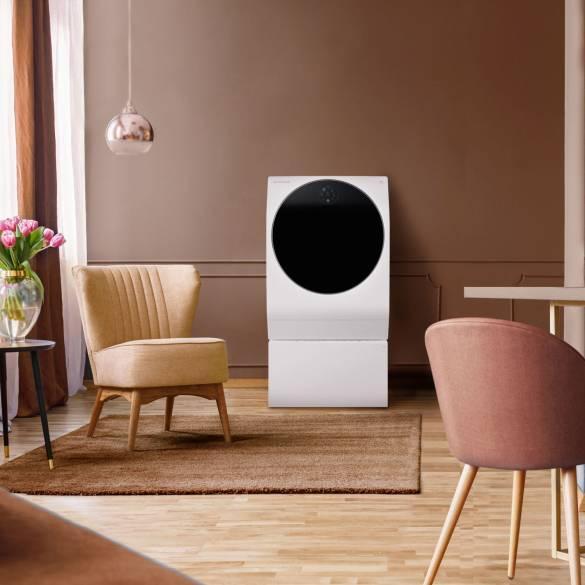 LG SIGNATURE Waschmaschine mit Korallen- und Tonelementen
