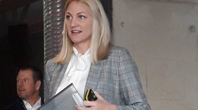 Präsentierte spannende Neuheiten: Olivia Wintermeyer, Produktmanager Home Appliances bei LG.