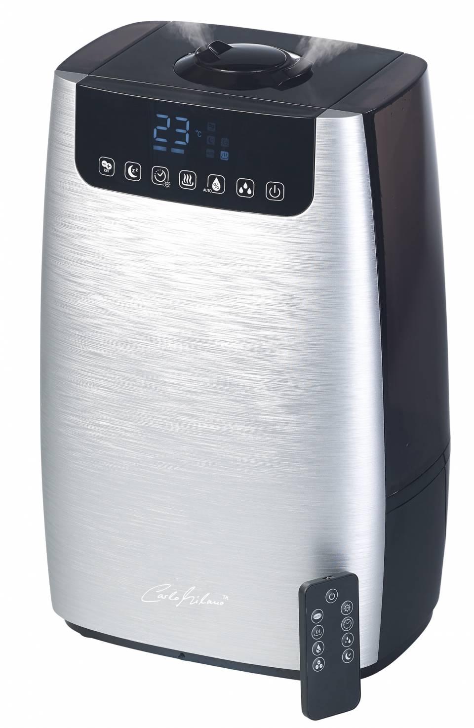 Pearl Luftbefeuchter Carlo Milano LBF-600 ist Luftbefeuchter und –reiniger in einem Gerät.