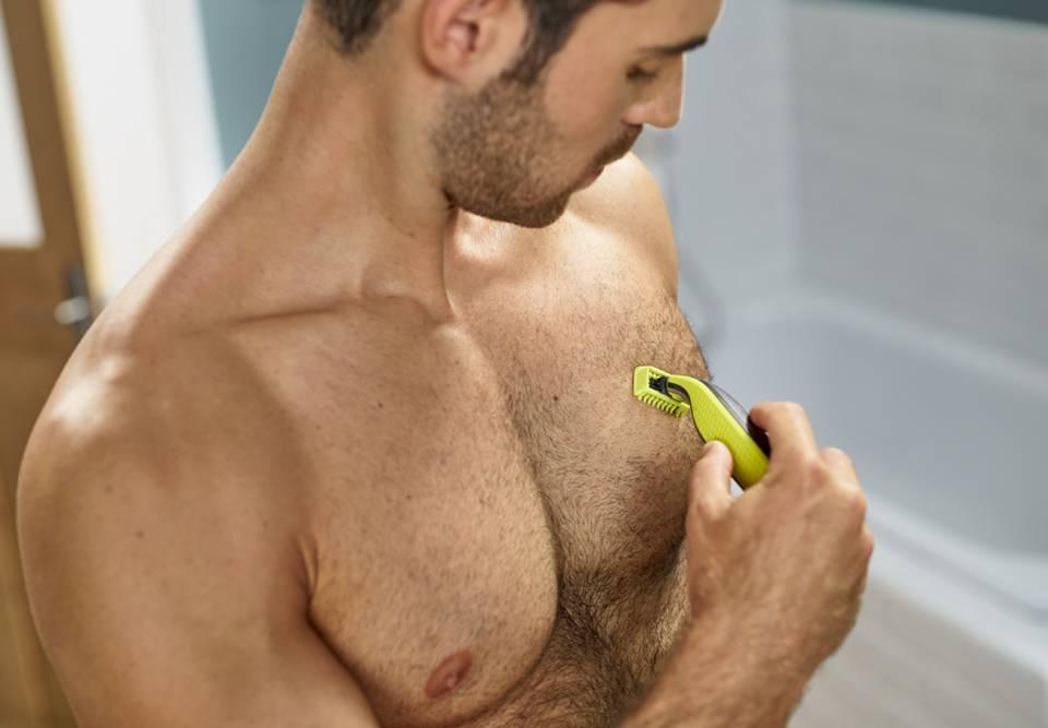 Philips Rasierer OneBlade Face + Body für Gesicht und Körper.