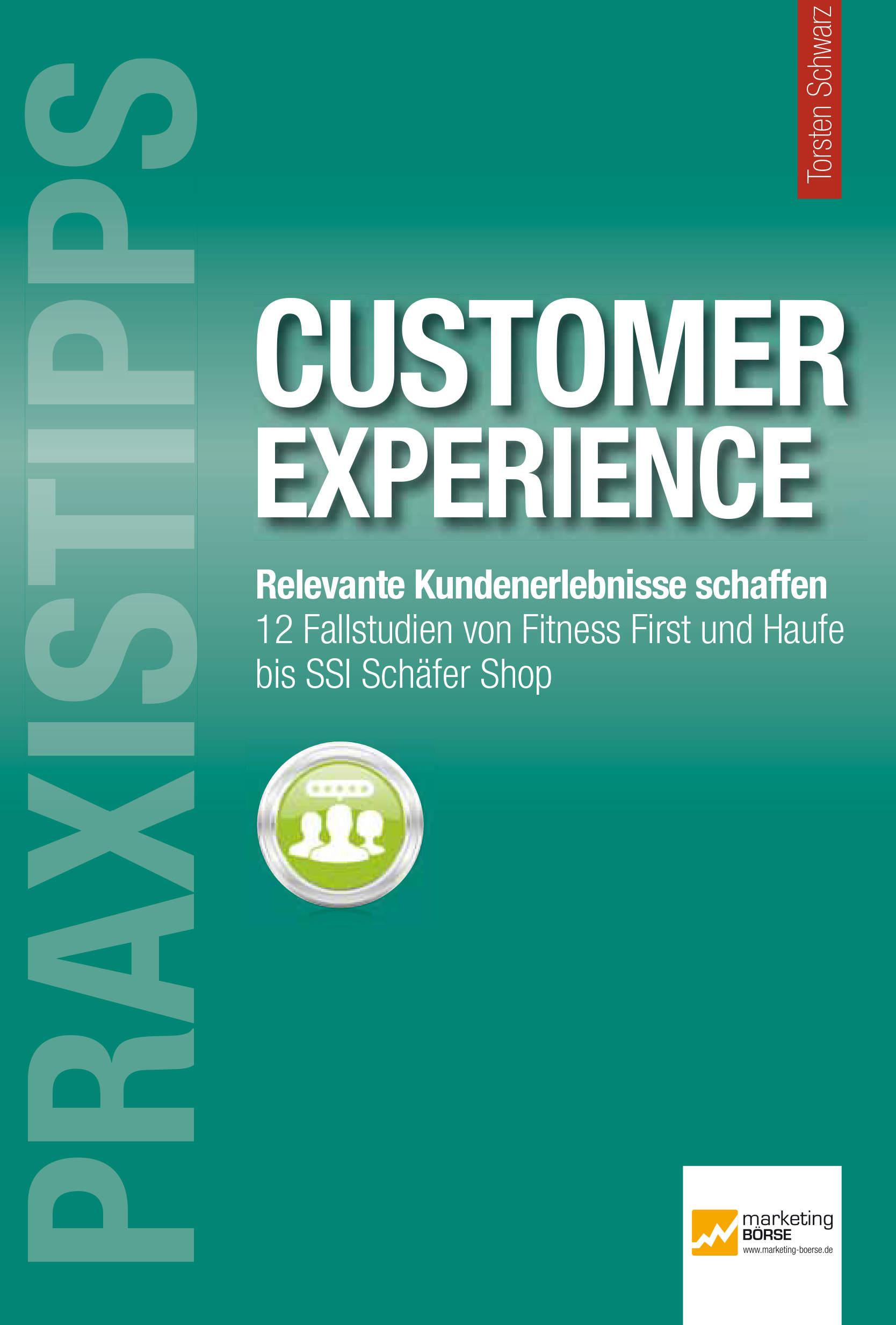 Praxistipp Customer Experience Buchcover