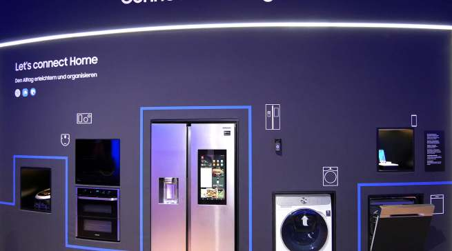 Top-Thema und roter Faden durch alle Samsung Produktkategorien: Connected Living.