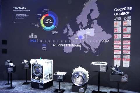 Mit Erfahrung, geprüfter Qualität und Innovationen hat sich Samsung in den letzten Jahren als wichtiger Impulsgeber im Handel etabliert.
