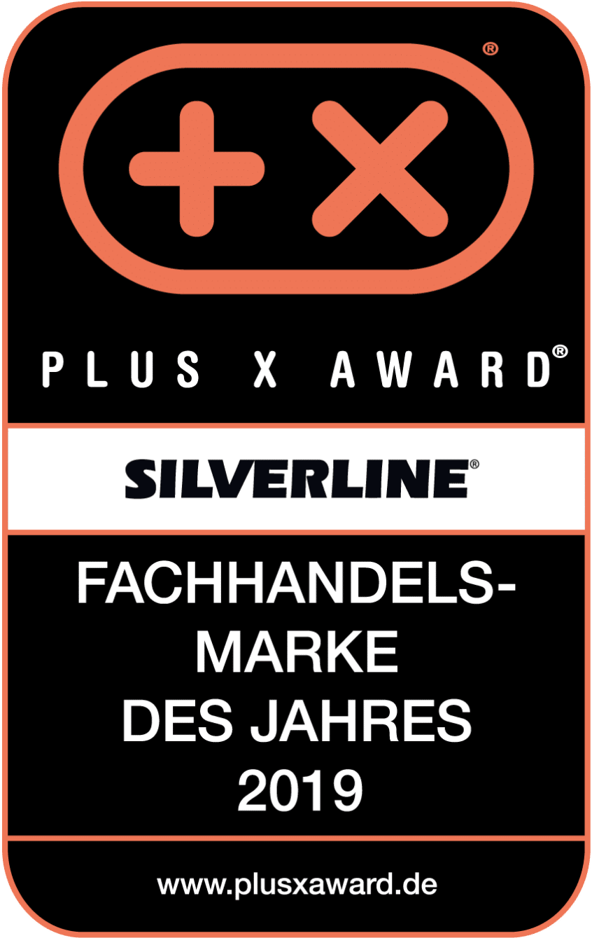 Siegel Plus X Award Silverline