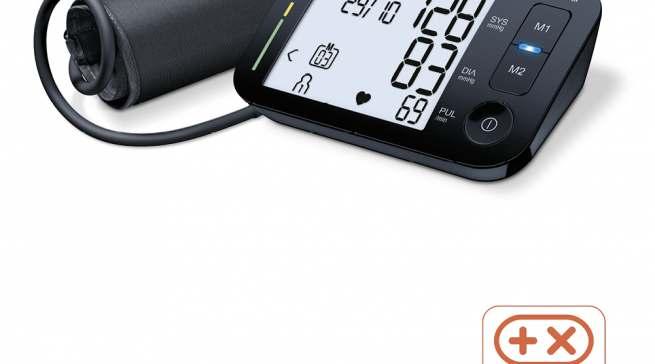 Beurer Oberarm-Blutdruckmessgerät BM 54 Bluetooth