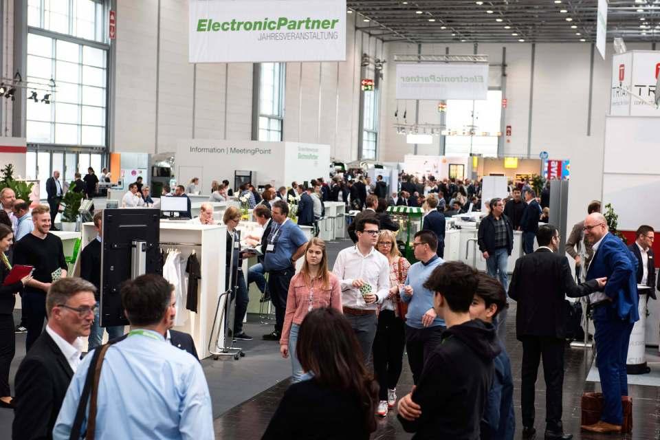 Mächtig was los: 8.500 Besucher kamen zur Jahresveranstaltung von EP: nach Düsseldorf.