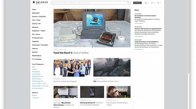 Mehr als ein Online-Shop: Galaxus punktet u.a. mit Tests, Produktnews und Hintergrundberichten.