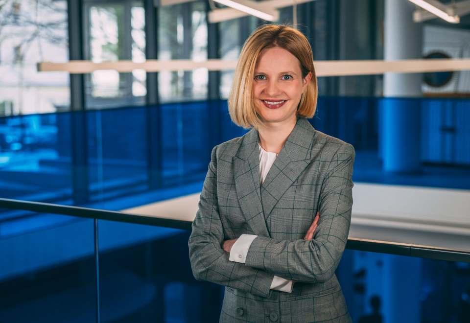 """""""Ich freue mich darauf, gemeinsam mit meinem Team die kommenden Herausforderungen anzugehen und meinen Enthusiasmus auch in der neuen Funktion zu teilen"""", Marlies Gebetsberger."""