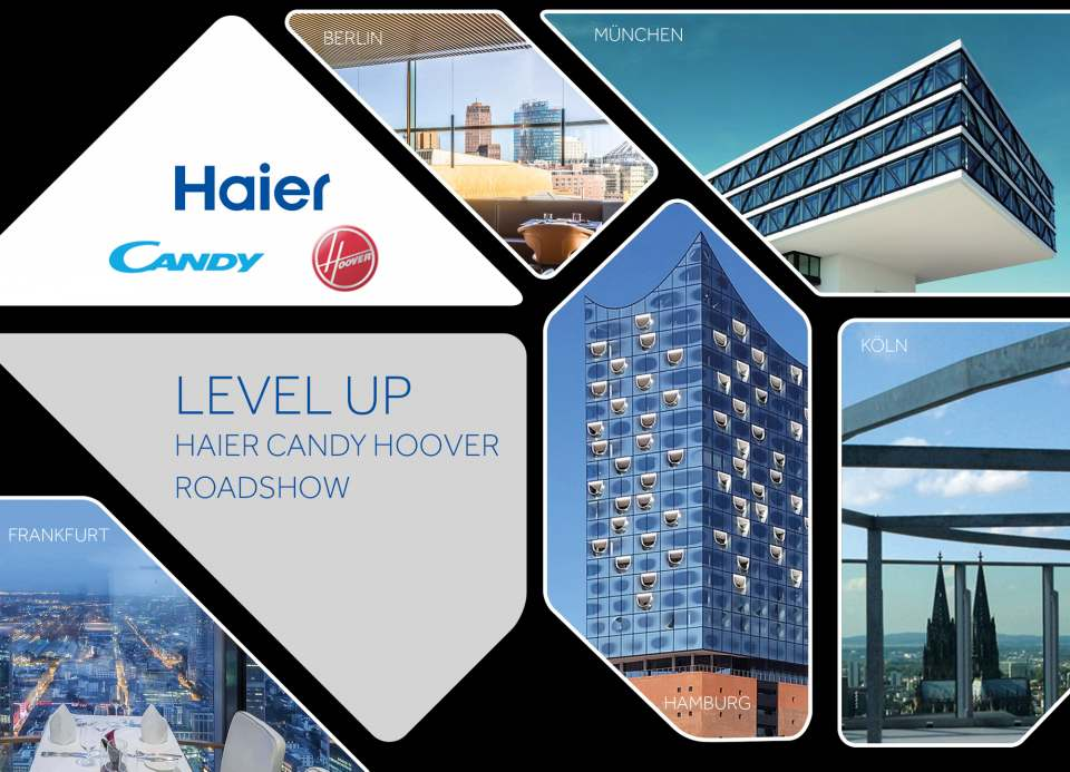 Roadshow Haier Candy Hoover