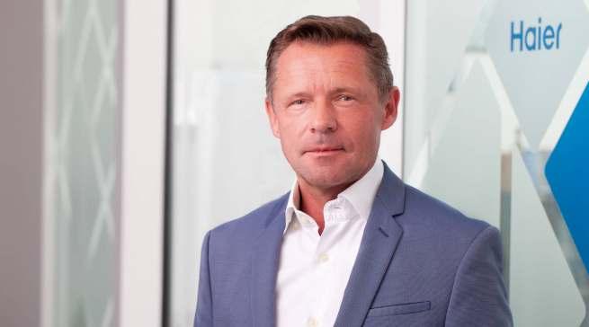 """""""Wir haben uns Großes vorgenommen"""", Thomas Wittling, Geschäftsführer Haier Deutschland."""