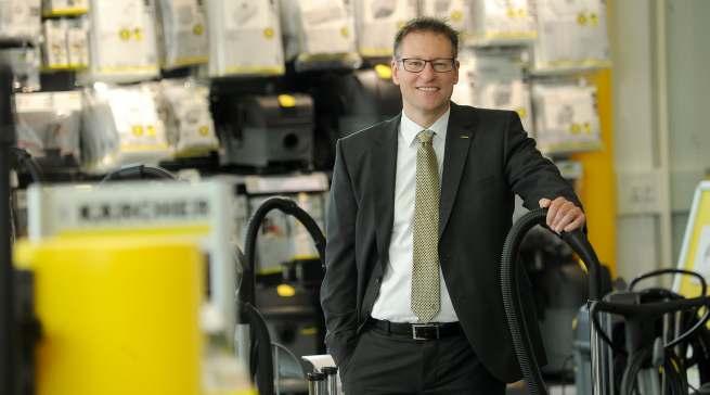 Klaus Hirschle, Vertriebsleiter Retail der Alfred Kärcher Vertriebs-GmbH