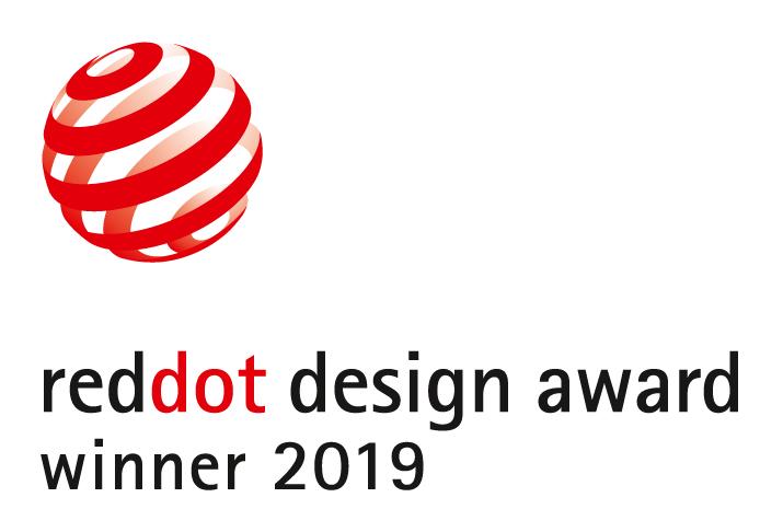 Red Dot Design Award Winner 2019