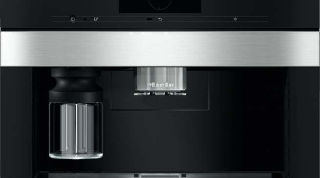 Der Einbau-Kaffeevollautomat CVA 7845 von Miele wurde mit dem iF Product Design Award 2019 und dem Red Dot Award: Product Design 2019 ausgezeichnet.