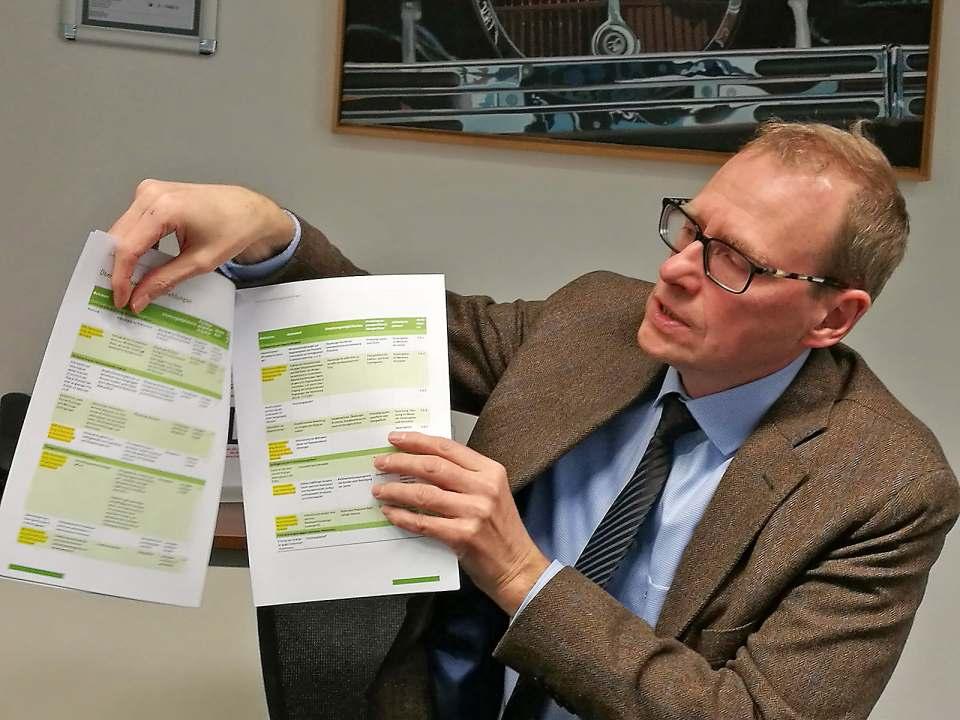 Werner Scholz vom ZVEI erläuterte infoboard.de die Reskalierung bereits vor zwei Jahren in Frankfurt.