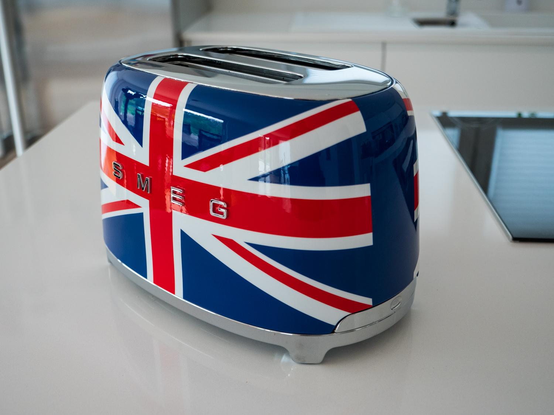 Smeg Toaster Union Jack