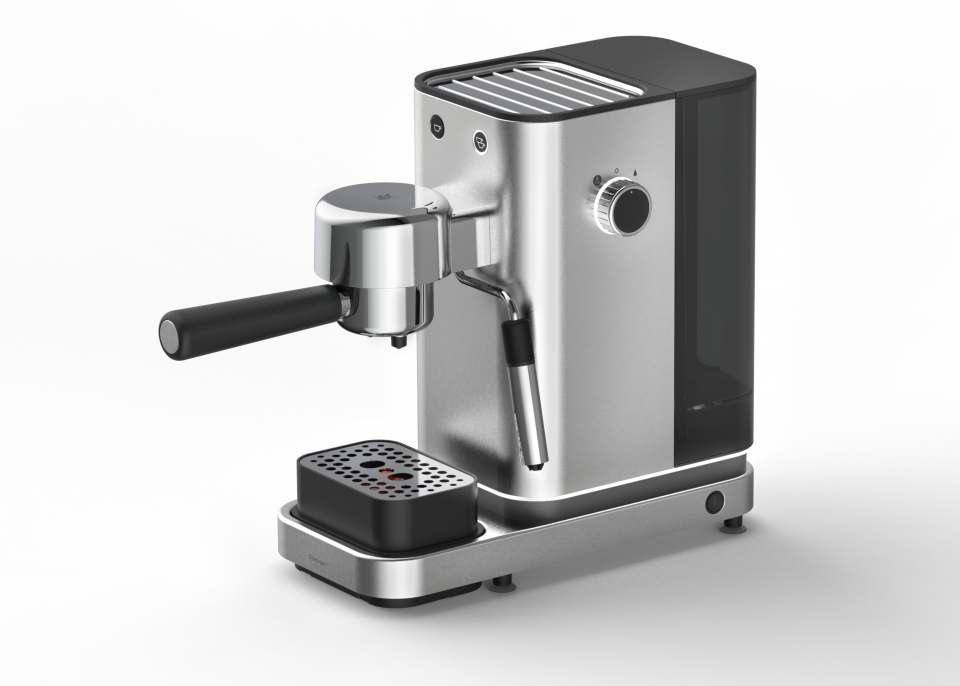 Hochwertige Ausstattung: Lumero Espresso Siebträger-Maschine von WMF mit dem Red Dot Award ausgezeichnet.