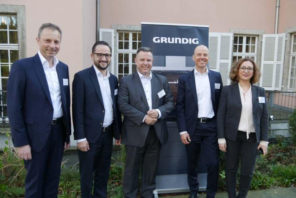 Haben bei der weißen Ware ambitionierte Ziele (v.li.): Peter Herzberger, Danijel Vladimirov, Carsten Siebler, Mario Vogl und Gülcin Magel.