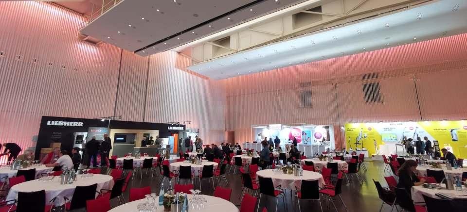 Die HEPT 2019 in Offenburg- Blick in die Halle