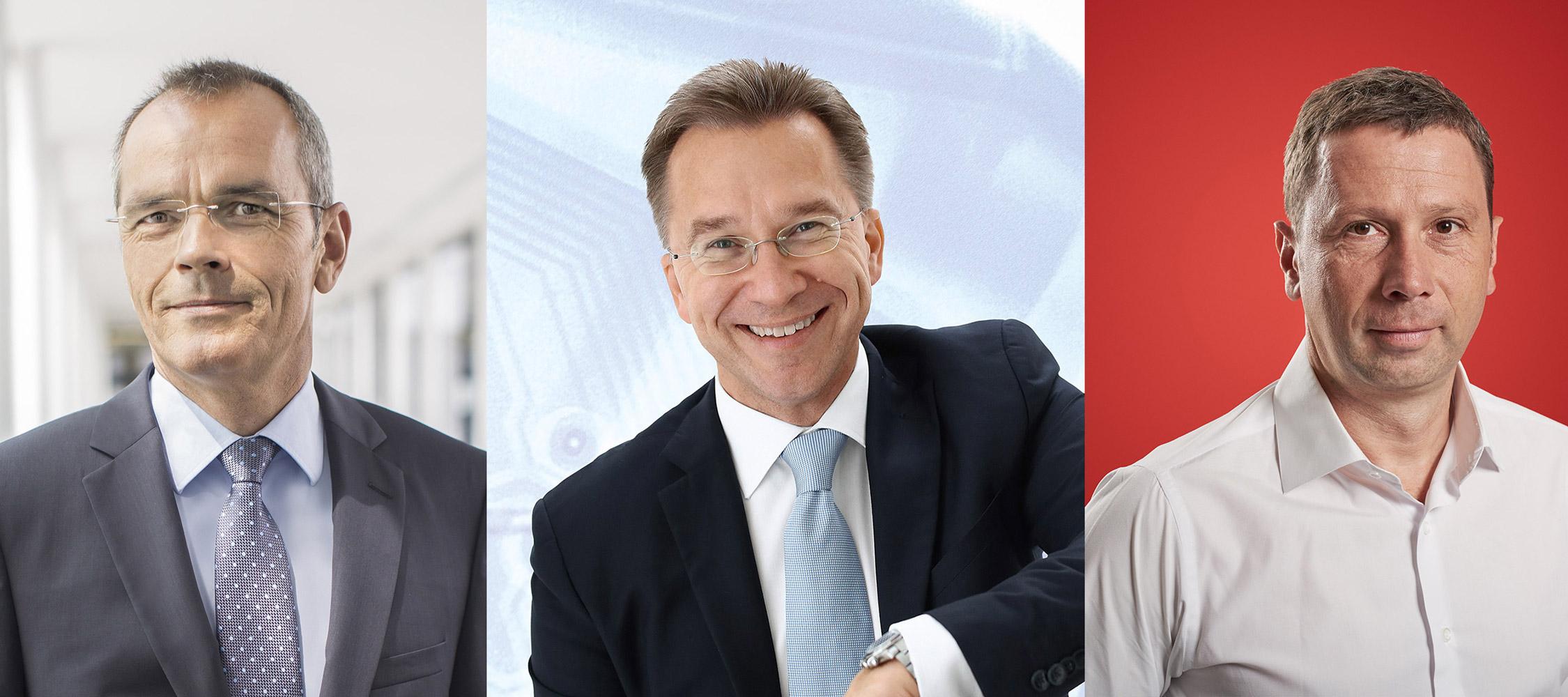 Dr. Stefan Müller, Benedict Kober, Jens Heithecker