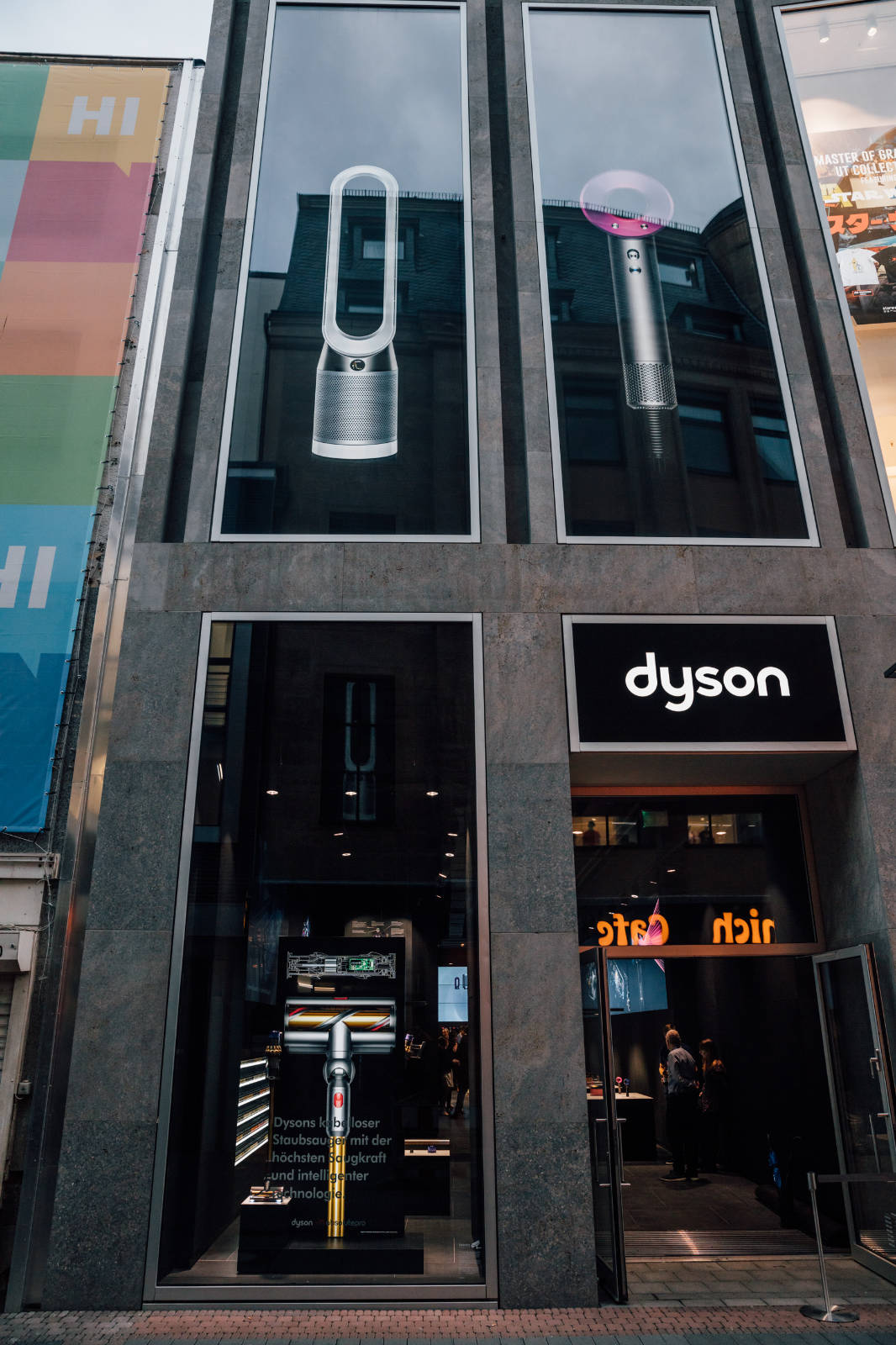 Hohe Straße 52: Dyson entert Köln mit dem ersten eigenen Marken-Store in Deutschland.