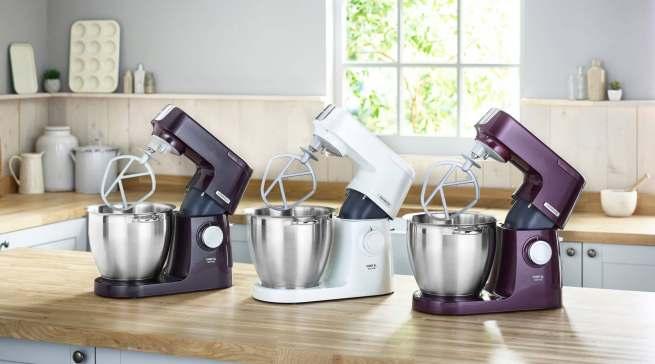 Nicht nur im TV beliebte Küchenhelfer: Kenwood Küchenmaschinen.