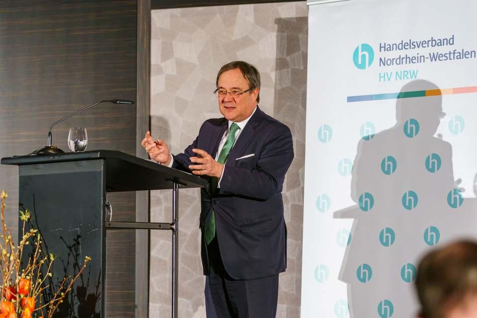 Armin Laschet, Ministerpräsident des Landes Nordrhein-Westfalen. Foto: HV NRW/Volker Wiciok