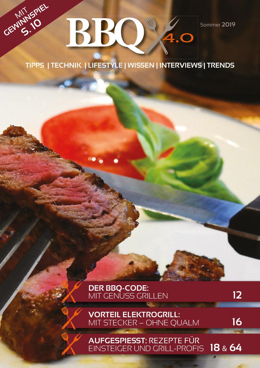 BBQ 4.0 Elektrisches Grillen Titelseite