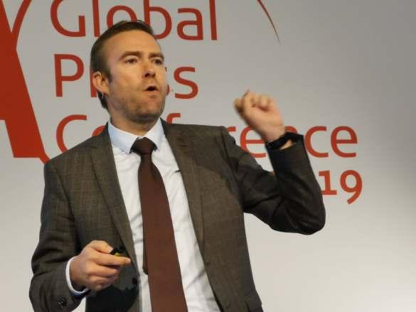 Umsatz verdoppelt! Yannick Fierling, CEO Haier Europe, freut sich, dass Haier aktuell das am schnellsten wachsende Unternehmen weltweit ist.