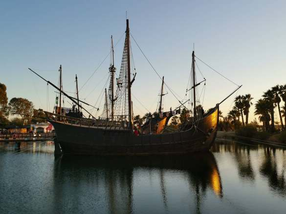 """Die GPC fand nicht zufällig im andalusischen Huelva statt. Ein Ort mit Symbolkraft, denn Christopher Kolumbus begann hier mit seinem """"Start-up""""."""