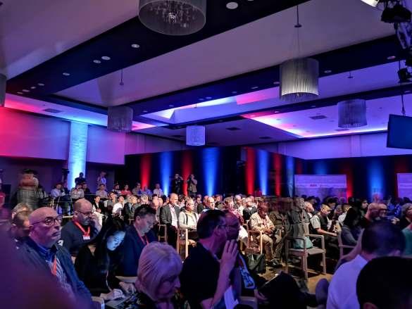 Über 300 Journalisten aus 55 Ländern nahmen an der diesjährigen IFA Global Press Conference (GPC) teil.