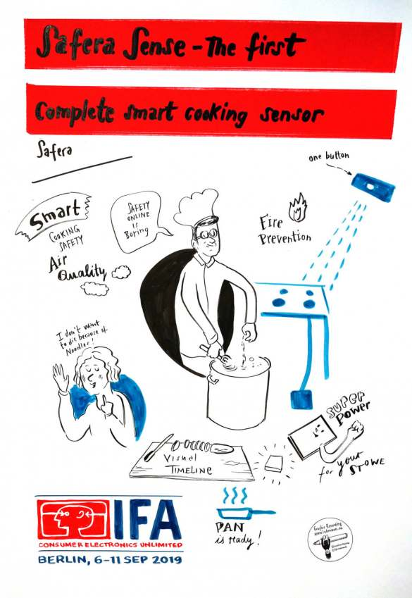 IFA Global Press Conference 2019- Power Briefing Safera -Graphic Recording