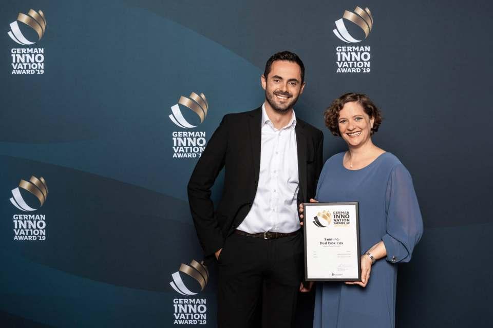 Ausgezeichnet: Samsung erhielt in diesem Jahr den German Innovation Award.