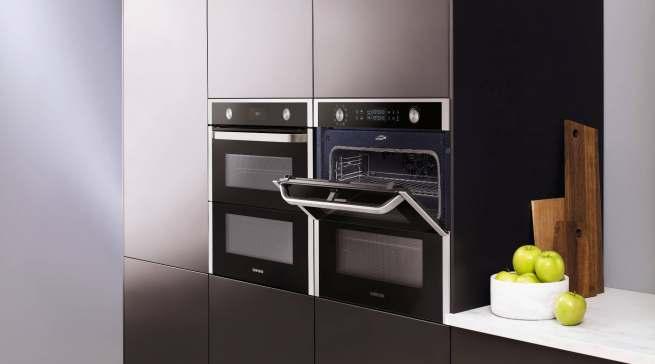 Flexibel und teilbar: Dual Cook Flex Backofen von Samsung.