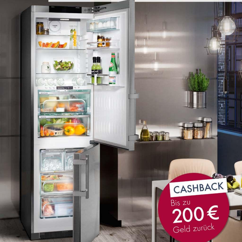 Für ausgewählte BioFresh-Modelle gibt es jetzt bei Liebherr bis zu 200 Euro Cashback.