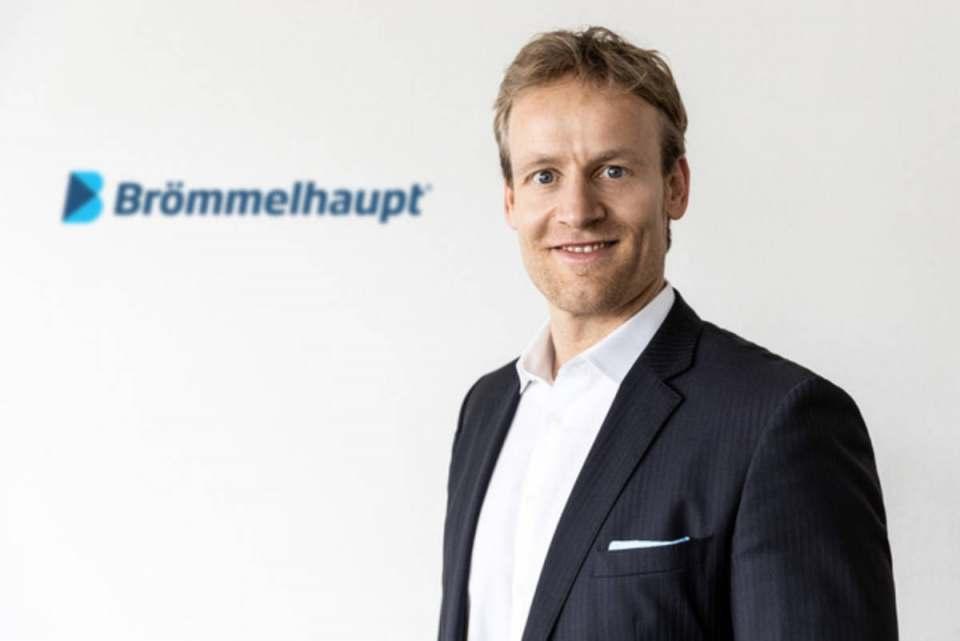 """""""Das Beste liegt noch vor uns"""", Brömmelhaupt Geschäftsführer Robert Drosdek."""
