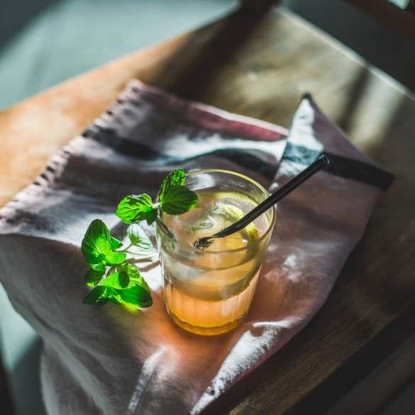 … und als schmackhafter Durstlöscher eine Apfel-Sellerie-Limonade.
