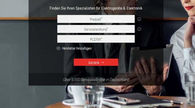 serviceguide24 Homepage mit News