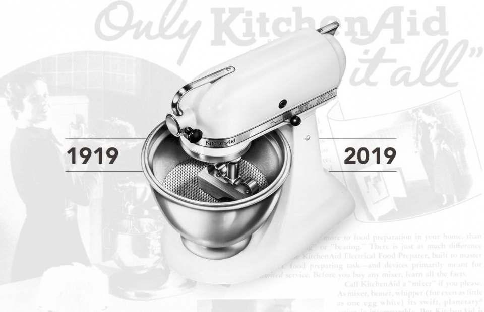 100 Jahre: KitchenAid feiert Geburtstag.