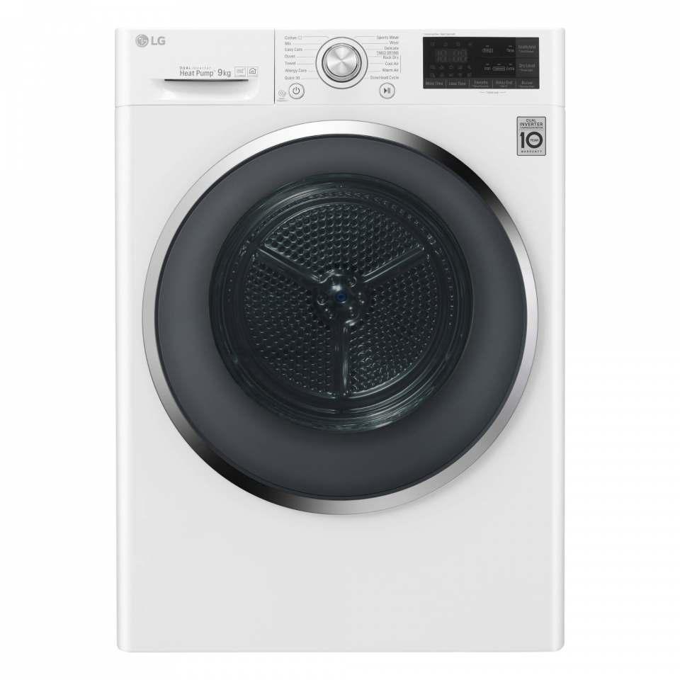 Bei Wäschetrocknern setzt LG auf Dual Inverter-Wärmepumpen.
