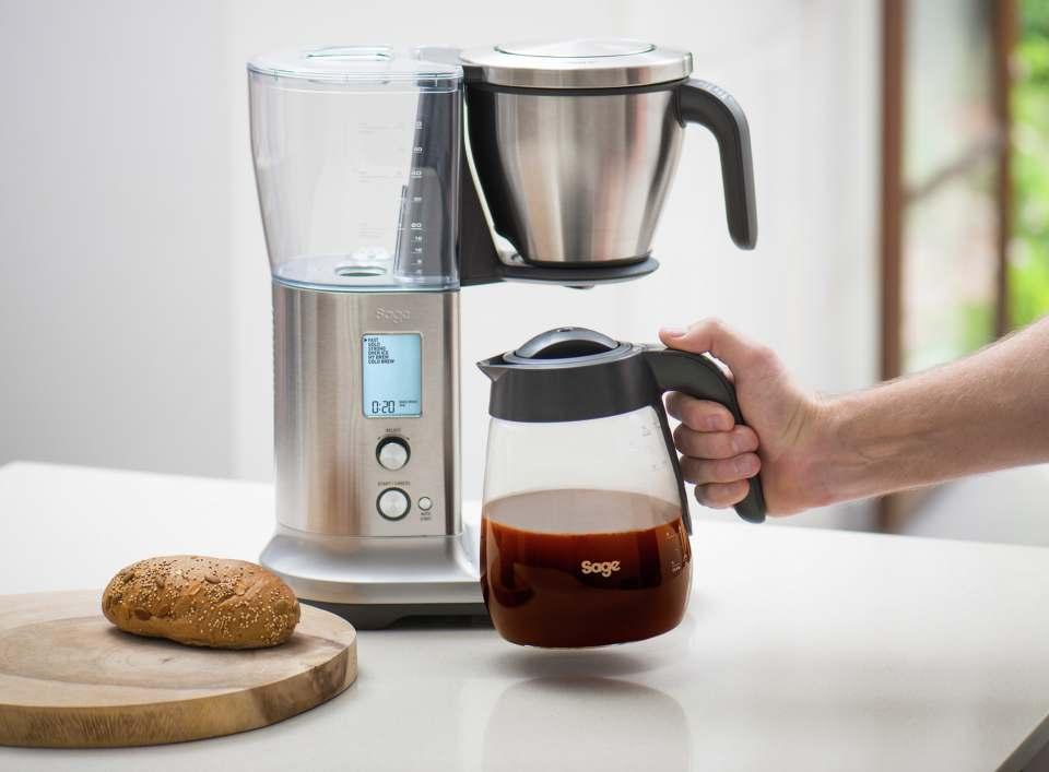 Sage Kaffeemaschine the Precision Brewer für 6 Zubereitungsarten von Cold Brew bis Filterkaffee.
