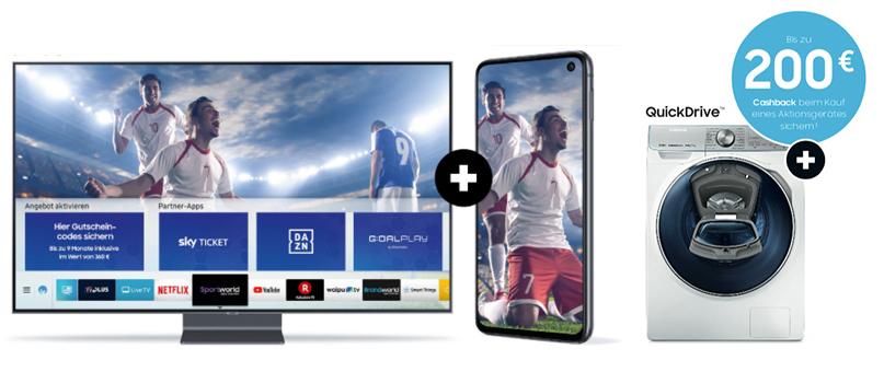 Sparen mit den Jubiläum-Deals von Samsung.