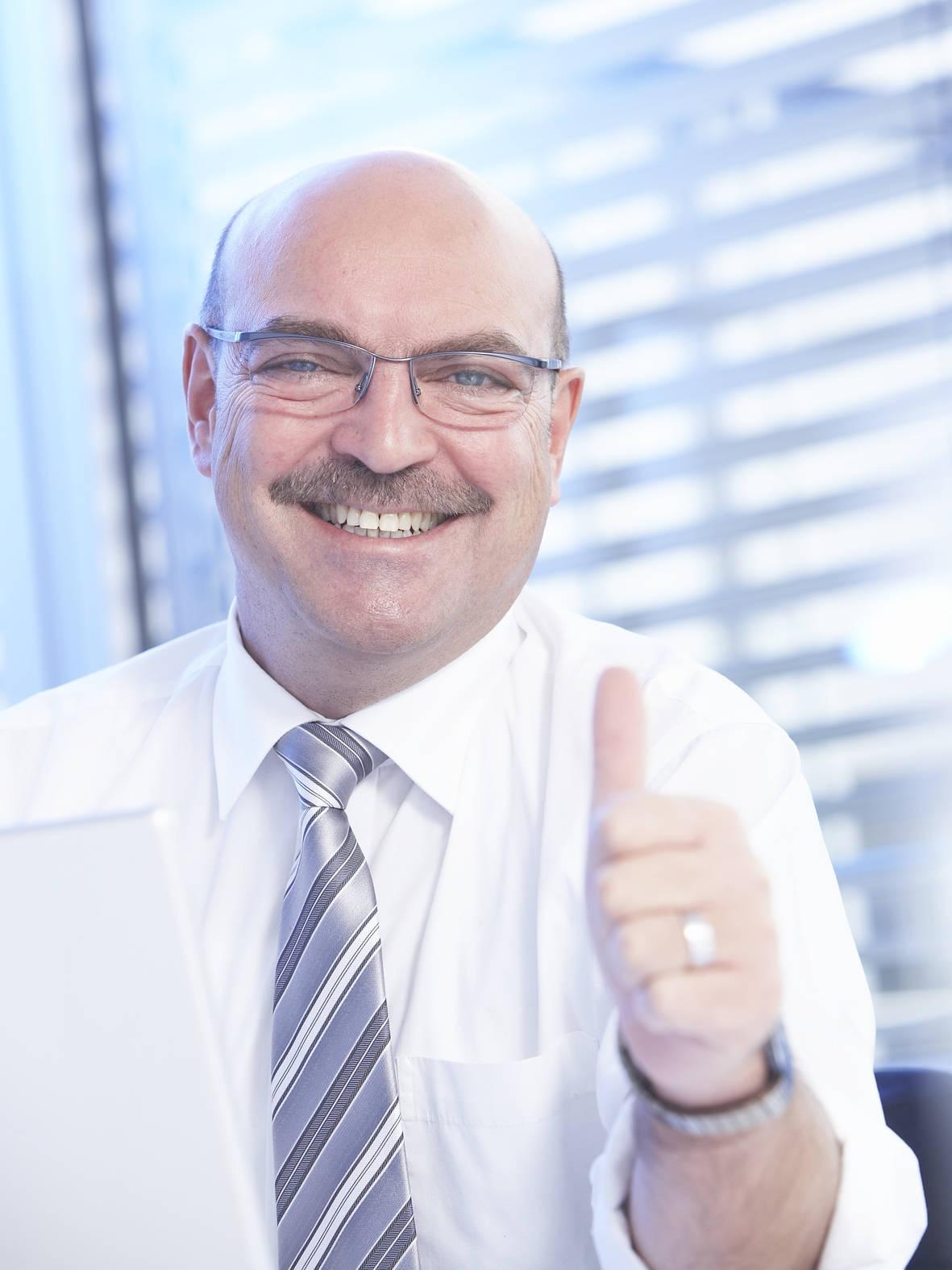 Mehr Kunden gewinnen, mehr Rendite erzielen: telering-Geschäftsführer Franz Schnur.