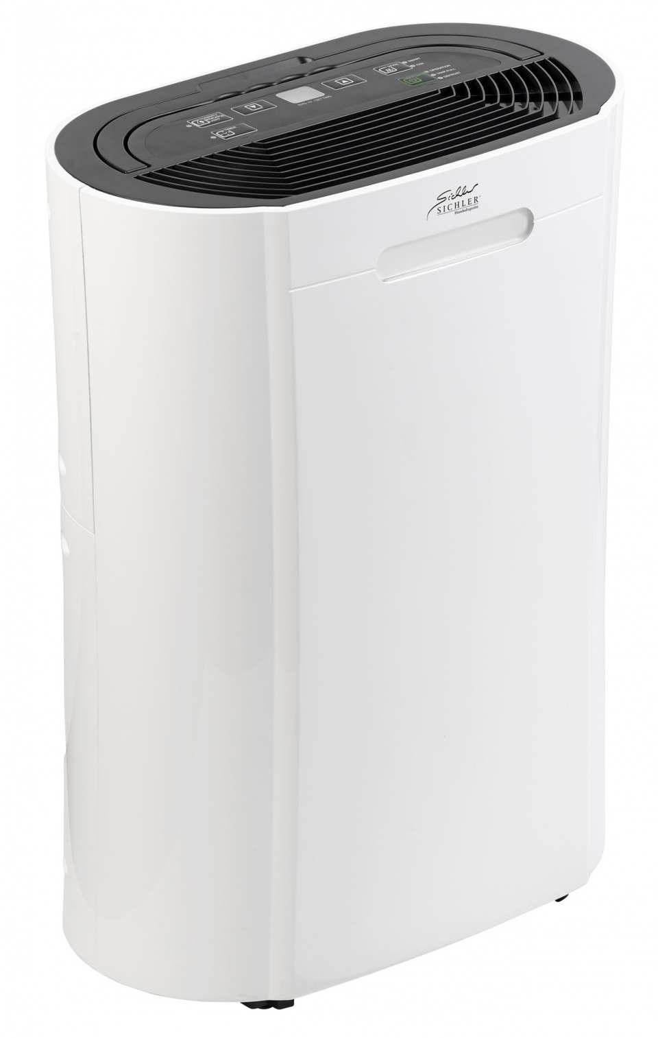 Sichler Luftentfeuchter LFT-410 mit Steuerung auch über Amazon Alexa & Google Assistant.