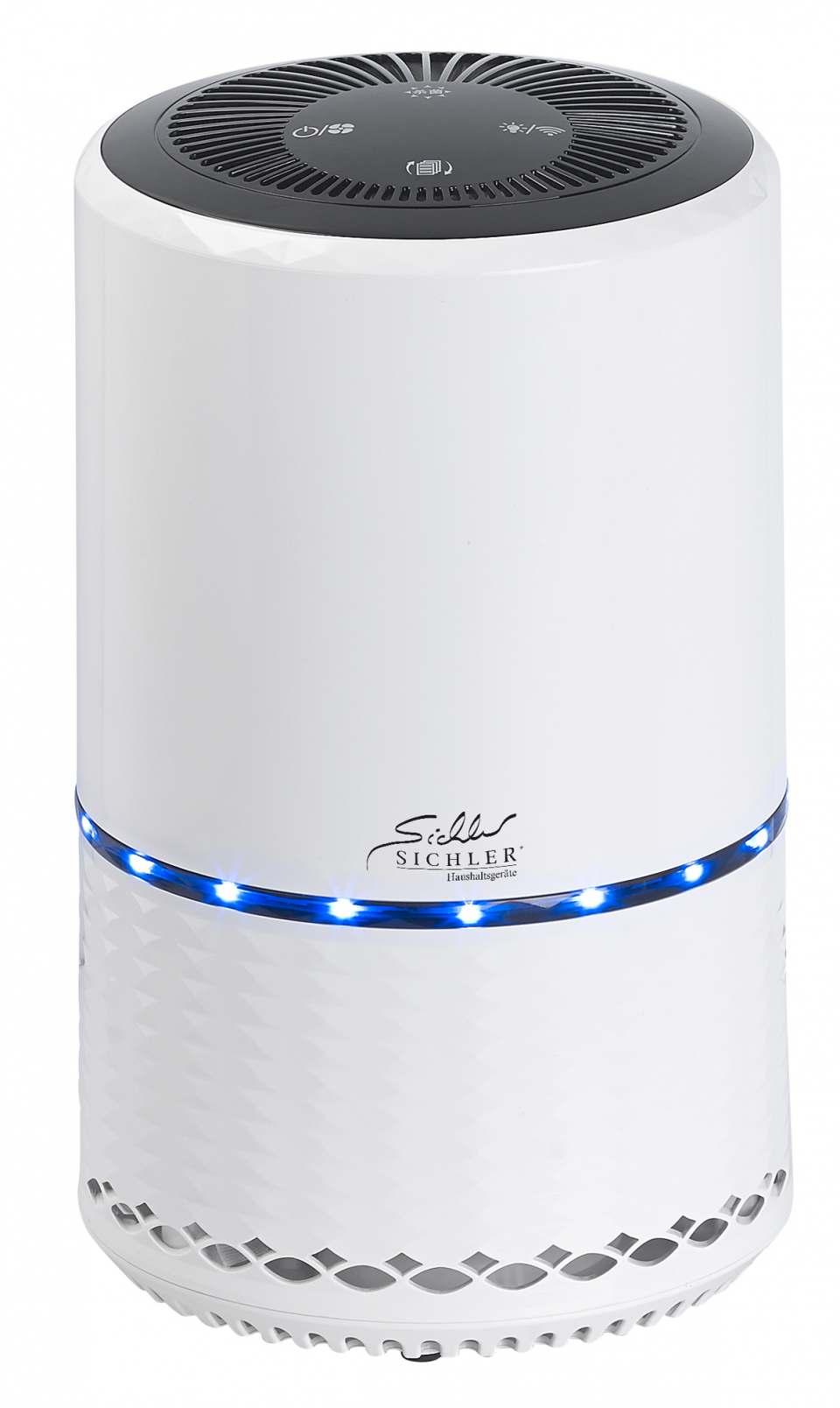 Sichler Luftreiniger LR-300.app mit HEPA Filter und Carbon-Filter.