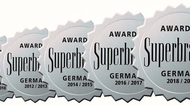 Superbrands Award Siegel Jura