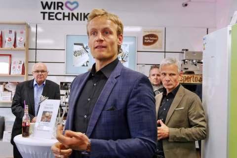 Begrüßte die Gäste: Brömmelhaupt-Geschäftsführer Robert Drosdek.