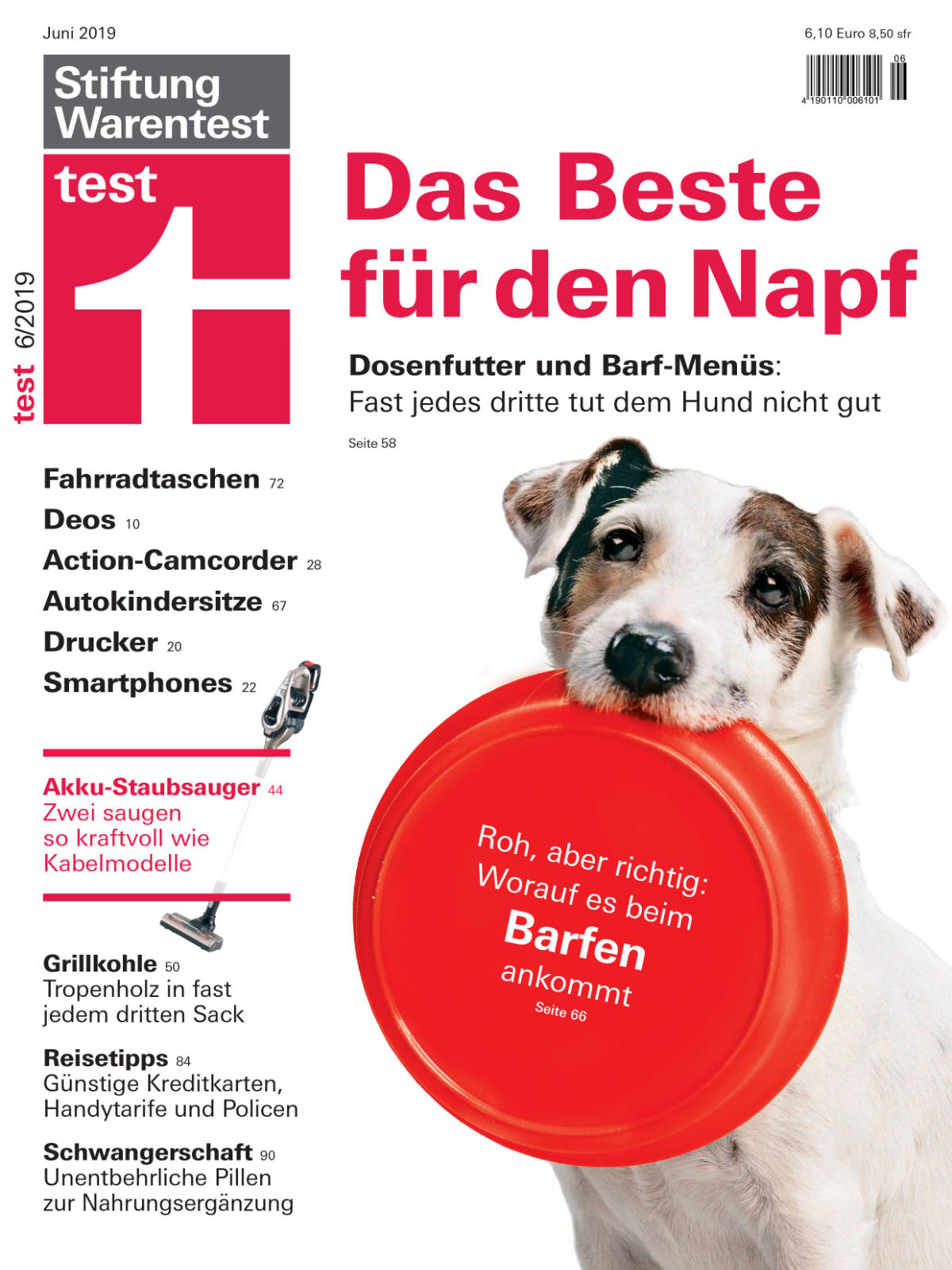 Titelcover Stiftung Warentest
