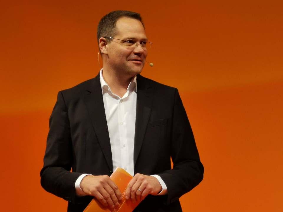 Die Zeichen stehen auf Veränderung: Michael Müller war als President Northern, Central and Eastern Europe Gastgeber des Insight Summit der GfK.