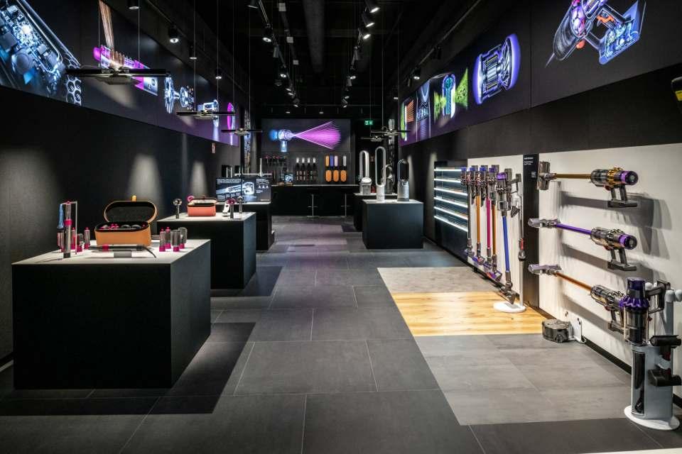 Im Centro Oberhausen hat Dyson Mitte Juli seinen zweiten Demo Store eröffnet.