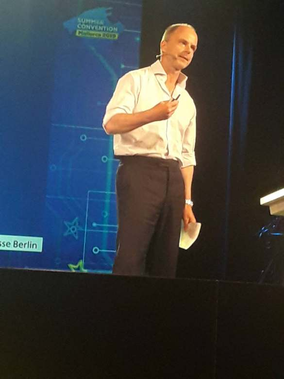 """""""Wer am lautesten schreit, wird als innovativ empfunden"""", Dr. Christian Göke, CEO Messe Berlin."""